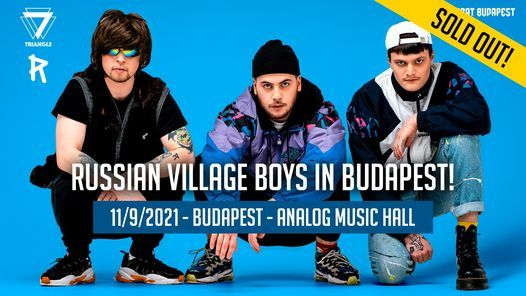 Russian Village Boys in Budapest!, 11 September | Event in Budapest | AllEvents.in