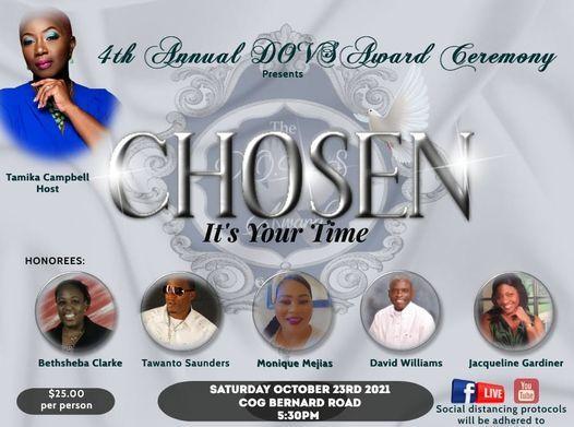 The D.O.V.S AWARD, 23 October | Event in Nassau | AllEvents.in