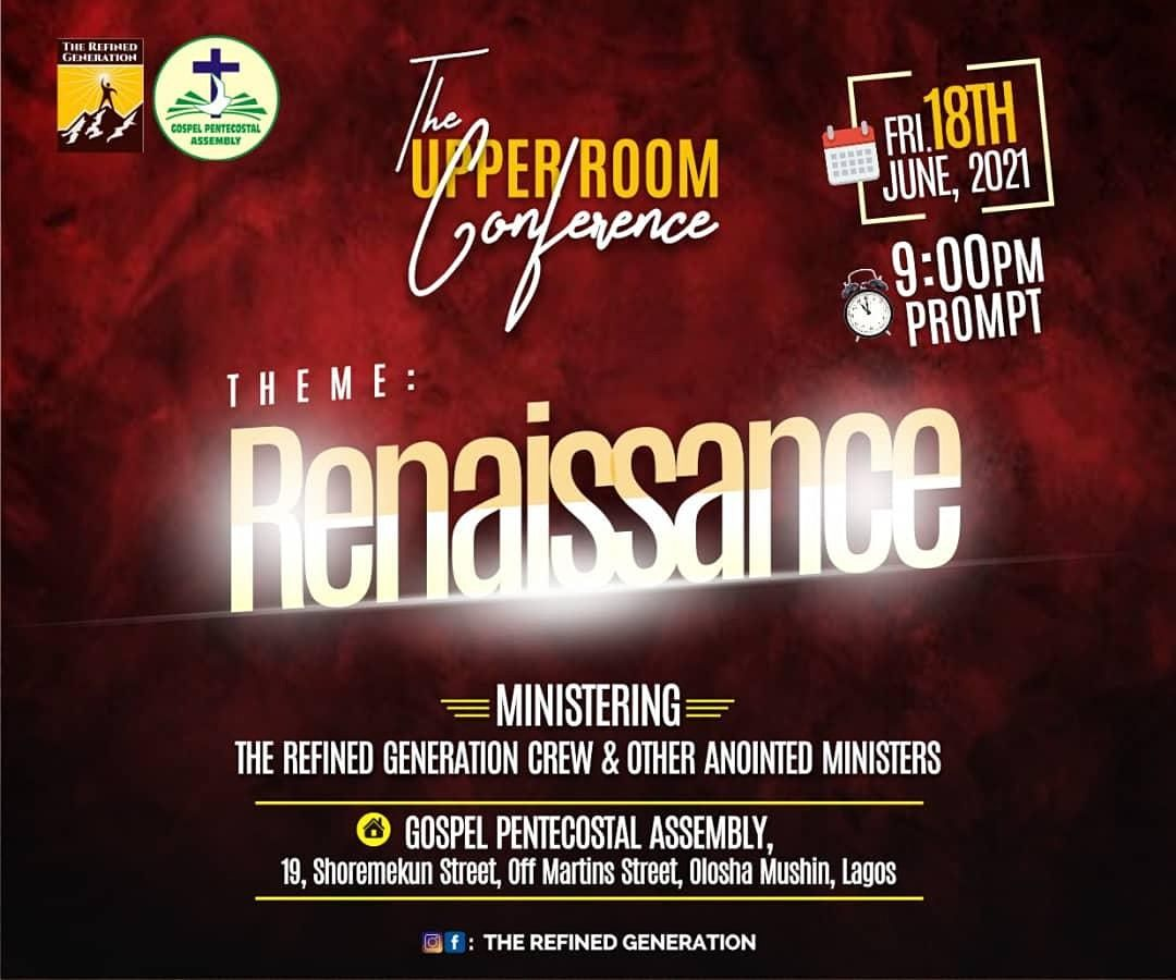 Upper  Room Conference 2021, 18 June   Event in Lagos   AllEvents.in