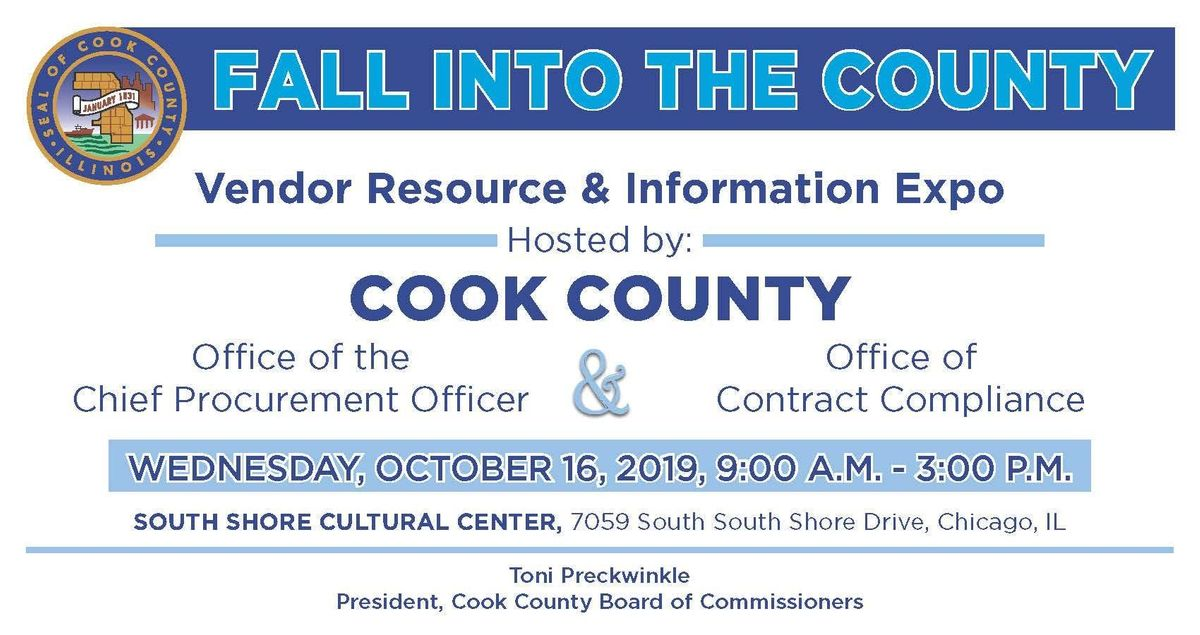 Fall into the County - Vendor Resource  & Information Expo