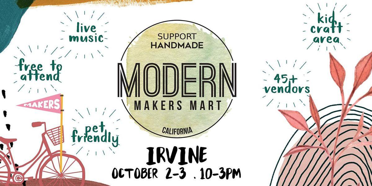 Modern Makers Mart  - Irvine, 2 October | Event in Irvine | AllEvents.in