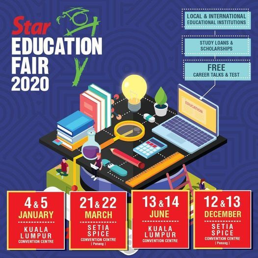 Star Education Fair 2020, 12 December | Event in Bayan Lepas | AllEvents.in