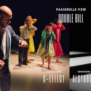 Double Bill dans D-Effect & Alstublieft in CC de Werft (Geel)