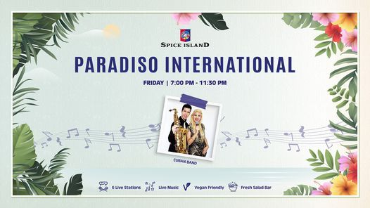 Paradiso International   Event in Dubai   AllEvents.in