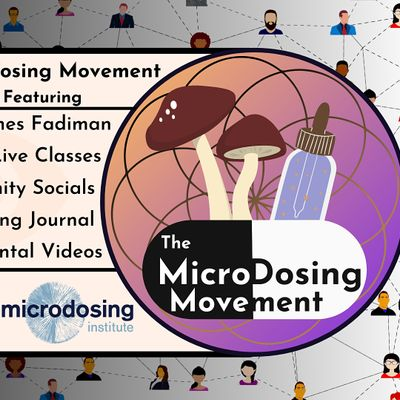 The Microdosing Movement