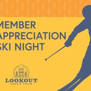 Member Appreciation Ski Night