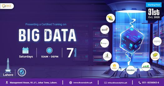 Lahore: Big Data Training, 31 October | Event in Lahore | AllEvents.in