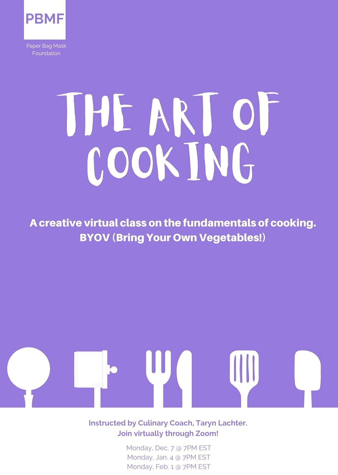 The Art of Cooking (Interactive class) | Online Event | AllEvents.in