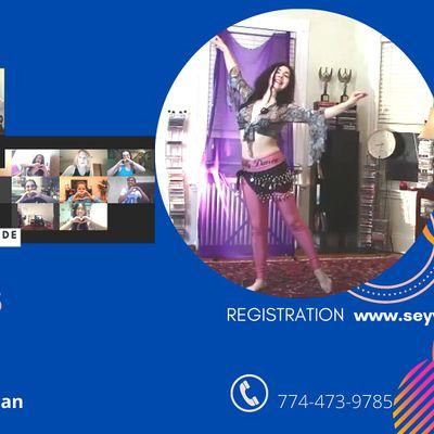 ONLINE Belly Dance Classes (Beginners)