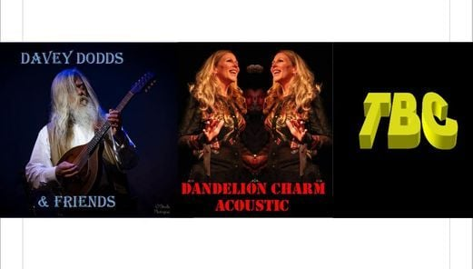 Davey Dodds & Friends, Dandelion Charm and TBC, 4 April | Event in Southampton | AllEvents.in