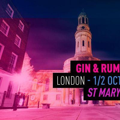 The Gin & Rum Festival - London -2021