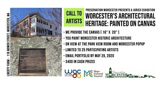Call for Artists Worcesters Architectural Heritage