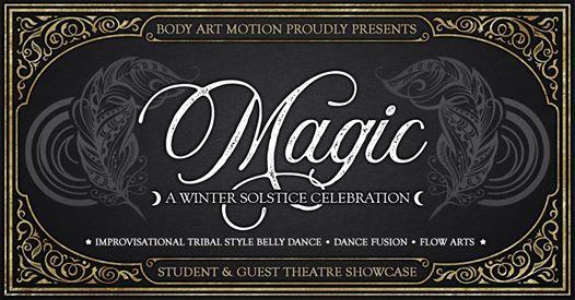 Magic 2019 Winter Solstice Show Market Cardel Theatre Calgary 20 December
