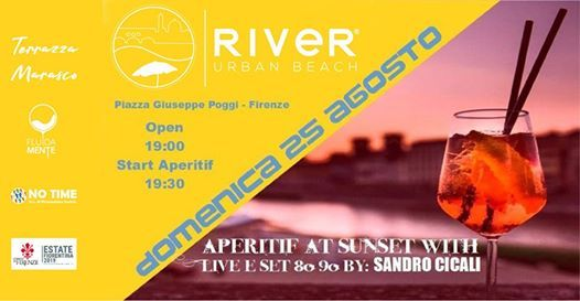 Aperitif At Sunset Live 80 90 Florence