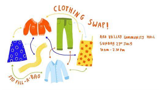 Clothing Swap fundraiser