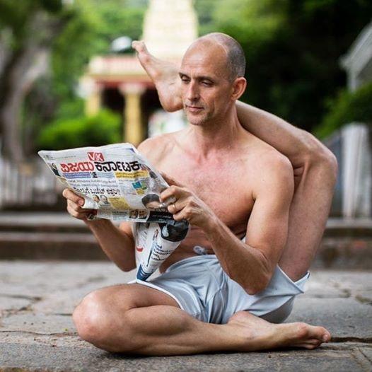 Tim Feldmann Yoga Workshop