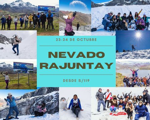 TREKKING AL NEVADO RAJUNTAY   Event in San Borja   AllEvents.in